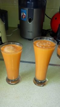 Spicy Carrot Juice