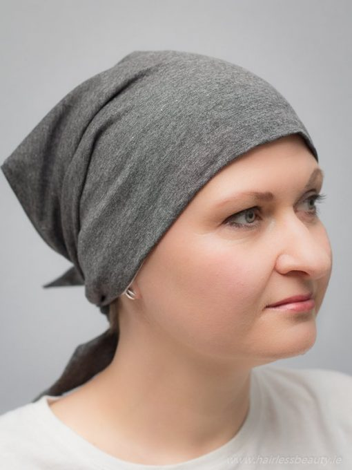 Violet | Hats and turbans for chemo and alopecia patients