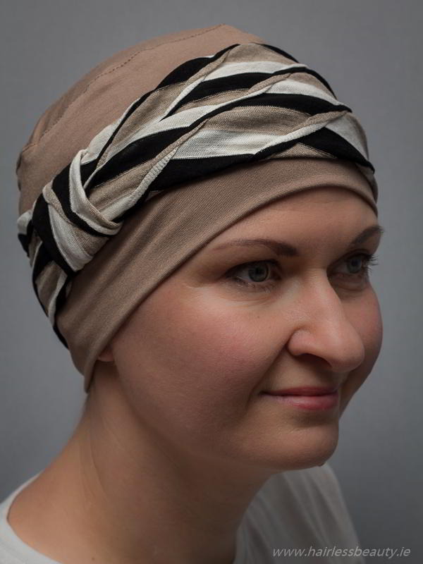 Elegant Turbans And Hats For Alopecia Patients