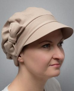 Poinsettia | Turbans and berets for cancer and alopecia patients