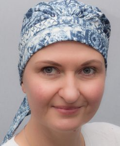 Cyclamen   Scarves and turbans for chemo and alopecia patients