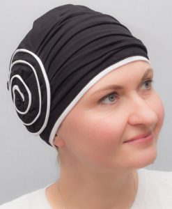 Orange | Hats and turbans for chemo and alopecia patients