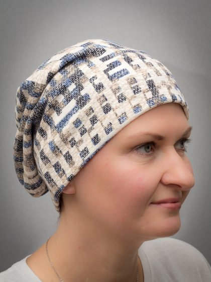 Dahlia | Beanies and Turbans for chemo and alopecia patients