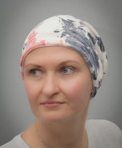 Dahlia Aztec   Beanies and Turbans for chemo and alopecia patients