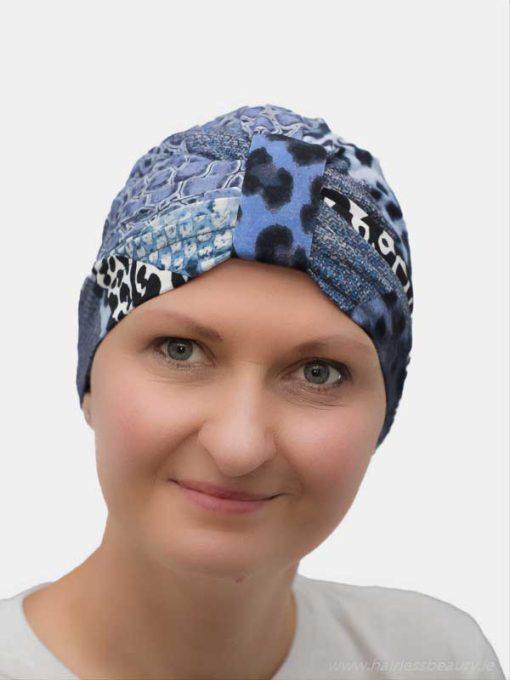 Cancer turban for chemo and alopecia