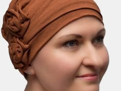 Heather - stylish turban for chemo or alopecia sufferers